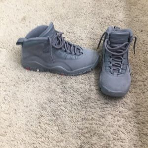 Great Condition Jordan 10 Cool Grey size 7.5